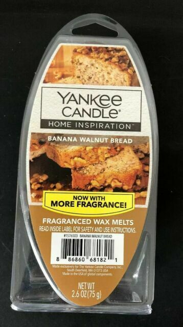 Home Inspiration By Yankee Candle Banana bread Wax Melt Cubes
