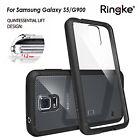 Genuine RINGKE FUSION Case slim soft bumper Cover for Samsung Galaxy S5 Black