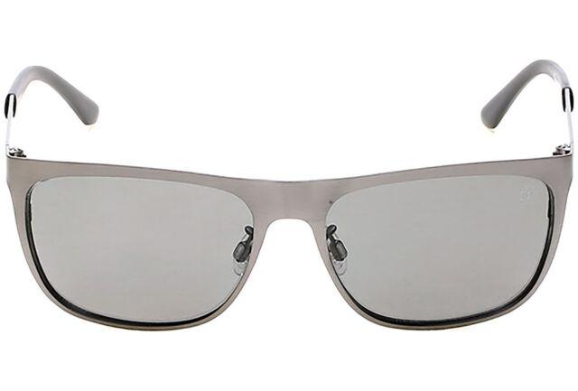 9bf09671d84 Timberland Polarized Sunglasses Matte Grey Steel  Green Lenses Tb9093 09d