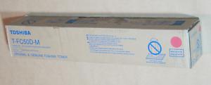 0584-TOSHIBA-TFC50DM-MAGENTA-TONER-RRP-gt-219