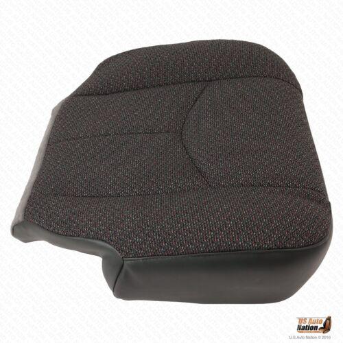 Driver Side Bottom Cloth Seat Cover Dk Gray 2003 2004 Sierra 2500 HD Work Truck