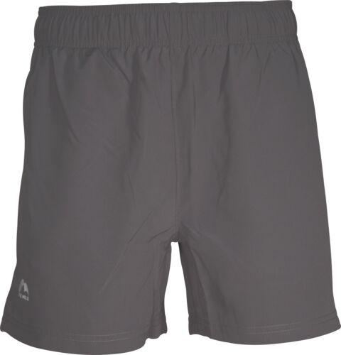 More Mile Active 5 Inch Mens Running Shorts Grey