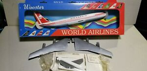 WOOSTER-W248-AIR-GAMBIA-707-1-200-SCALE-PLASTIC-SNAPFIT-MODEL