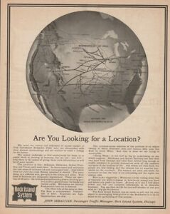 1903-Rock-Island-System-Railroad-Route-Map-Indian-Territory-Antique-Train-Ad