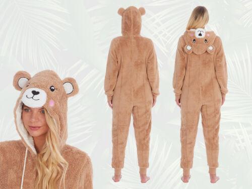 Femme Nouveauté Koala Teddy Fleece Onezee all in one 1 grenouillère de détente idée cadeau