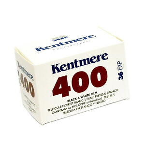 1 Roll  x  Kentmere Black & White Camera Film ISO 400 35mm 36exp 135-36  19498012372