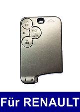 3Tasten Schlüssel Karte Gehäuse für Renault Laguna II 2 Espace IV 4 Vel Satis