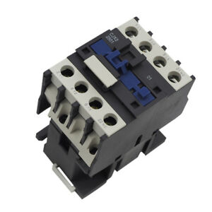 24/36/110/220/380V Coil CJX2-1810 3 Phase 3P N/C AC Contactor DIN Rail Mount