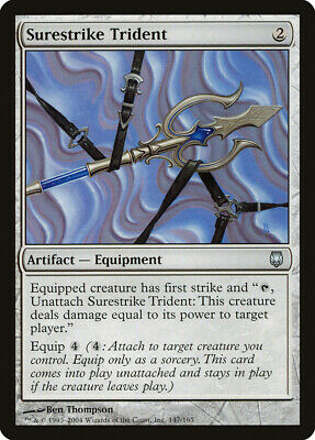 Thunderstaff FOIL Darksteel NM Artifact Uncommon MAGIC GATHERING CARD ABUGames
