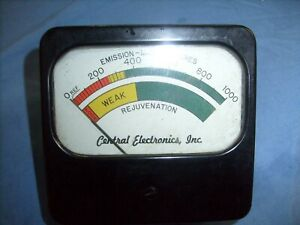 Central-Electronics-Rejuva-Tube-CRT-Rejuvenator-RE-1-PANEL-METER