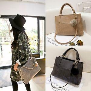 Designer-Fashion-Womens-Leather-Style-Tote-Shoulder-Bag-Handbag-Ladies