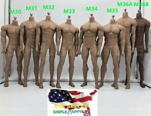 PHICEN-TBLeague-1-6-scale-Steel-Skeleton-Male-MUSCULAR-SEAMLESS-FIGURE-Body-USA