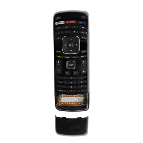 New XRT300 Qwerty Keyboard Remote Control with Vudu for VIZIO LCD LED Smart TV