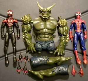 Marvel Legends Ultimate Spider-Man Green Goblin Miles ...