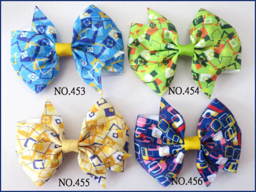 """200 BLESSING Good Girl Custom Boutique 4.5/"""" Wendy Bow Clip 474 No Wholesale"""