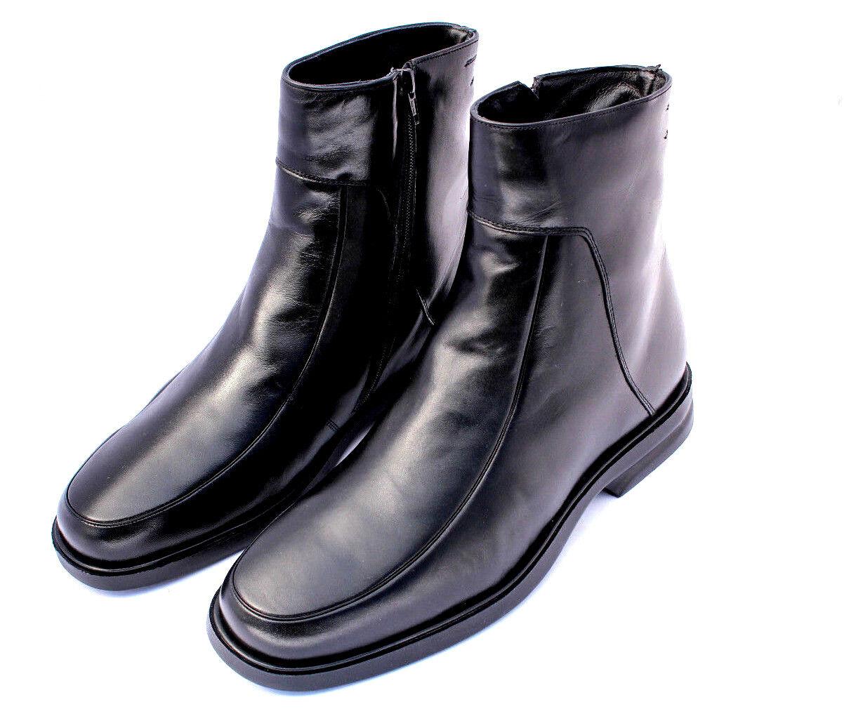 Herren Leder Halbstiefel Stiefel EUR gefüttert Stiefeletten Leather botas EUR Stiefel 38-46 a4e105