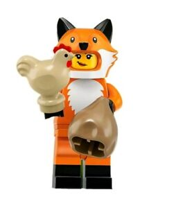 LEGO-SERIES-19-MINIFIGURES-FOX-SUIT-GUY-71025-SEALED-NEW