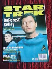 STAR TREK - OFFICIAL MONTHLY MAGAZINE -#56 - SEPT 1999 - DE FOREST KELLEY
