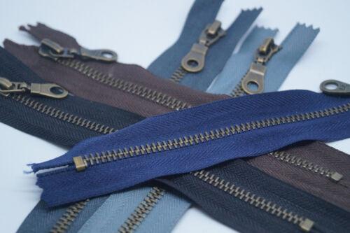 Reißverschluss BJ Metall nicht teilbar 5mm Reissverschlüsse Taschen Hosen Jeans
