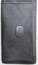 YVES SAINT LAURENT   Authentique portefeuille cuir    TBEG vintage 60's