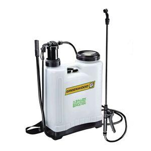 Garden-Backpack-Sprayer-Lawn-Pump-4-Gallon-Chemical-Tank-Spray-Wand-Lightweight