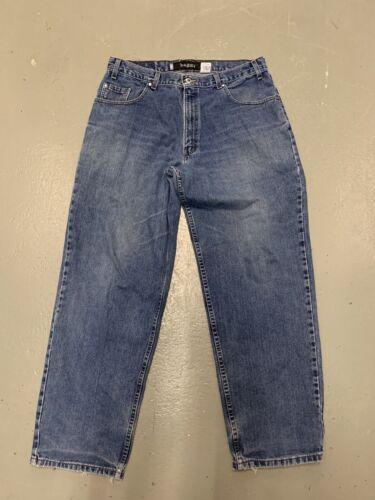Vintage Levis Silvertab Jeans Baggy Fit 36x32 Blue