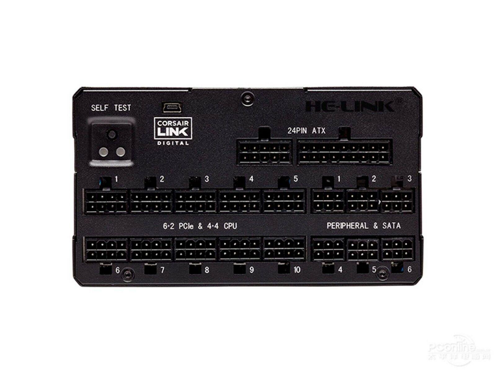 6+2pin PCI-E VGA Power Supply Cable for CORSAIR AX1600i and GPU 50cm
