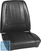 1968 Barracuda Deluxe Light Metallic Blue Seat Covers- Pui