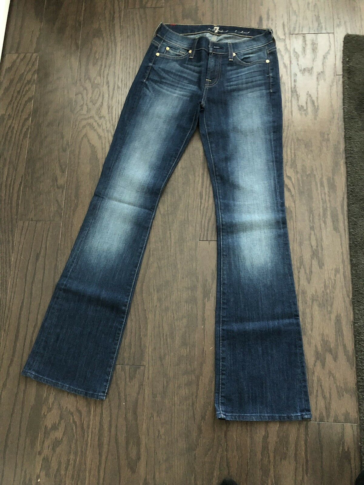 Womens Seven 7 For All Mankind Size 26 Boot Cut Jeans