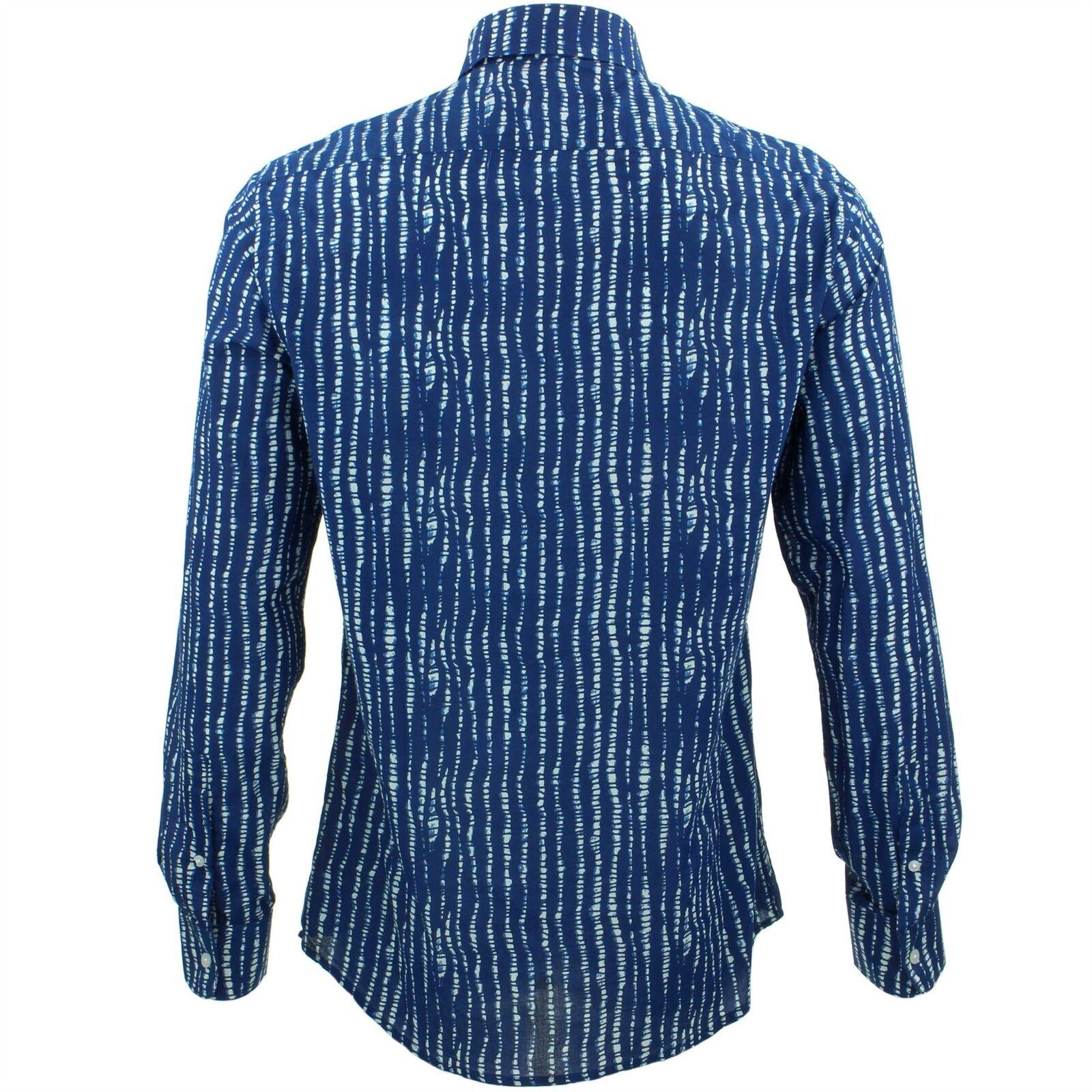 Mens Shirt Loud Originals TAILGoldt FIT Spine Blau Blau Blau Retro Psychedelic Fancy | Große Auswahl  | Spielzeugwelt, fröhlicher Ozean  | Viele Stile  de1ba8