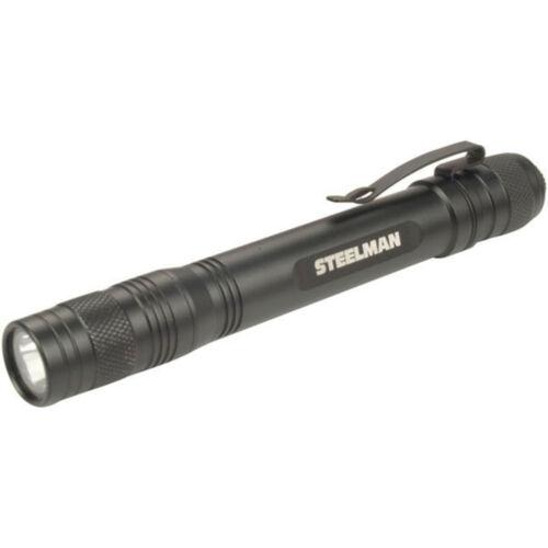 STEELMAN 95863 Black 95 Lumen LED Pen Light Automotive Work Flashlight