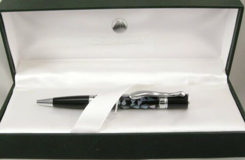55/% Off Monteverde Jewelria Mini Black Shell /& Chrome Ballpoint Pen New