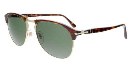 Persol PO8649S 24//31 Havana Round Sunglasses