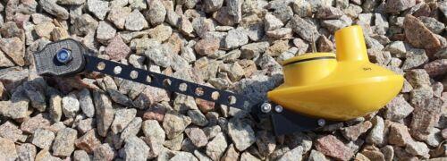 Lucky smartcast jaune style canne Transducteur Fish Finder Sensor Mount