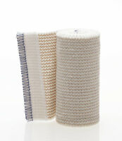 Lot Of 6 Elastic Bandages, 4 Inch Ace Body Wrap Style With Self Adhesiveends