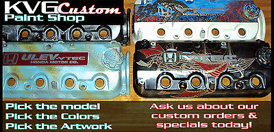 Custom Painted Valve Cover Mercedes-Benz Choose your paint job or artwork!