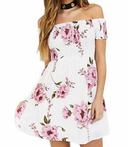 Romantisches Minikleid Sommerkleid Strandkleid ...