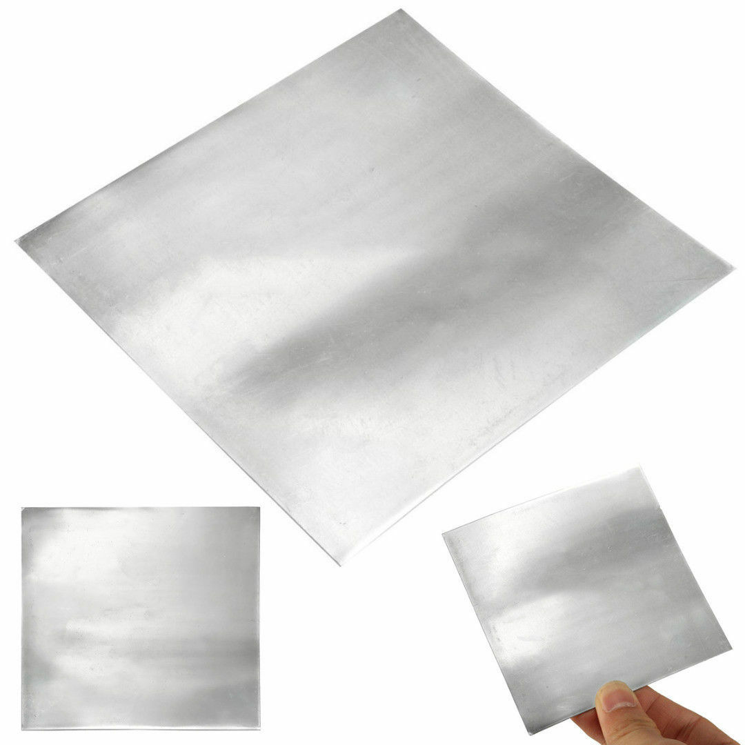 1//5pcs 99.9/% High Purity Pure Zinc Zn Sheet Plate Metal Foil for Science Lab New