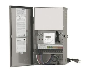 Details About Vista Mt 1200 Outdoor Lighting Va Multi Tap Low Voltage Transformer