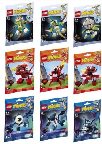 LEGO  Mixels Series 4 Complete Set of 9 New Sealed