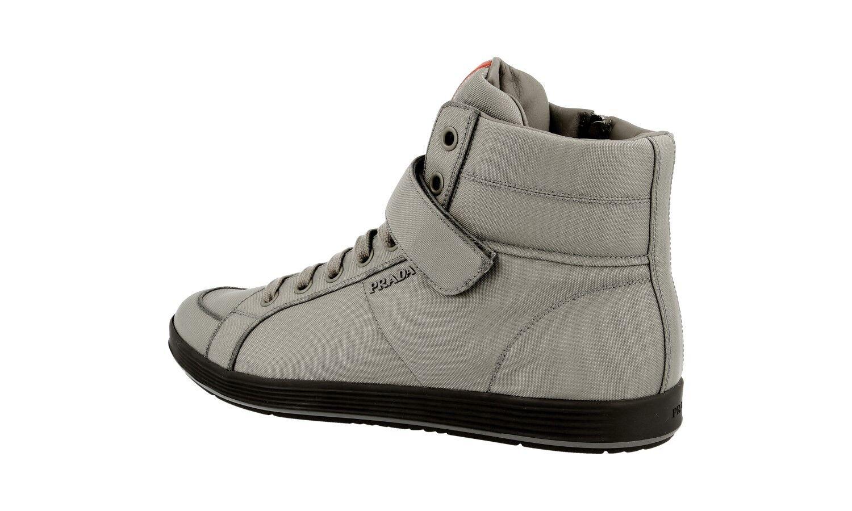 Luxe Prada Sneaker Chaussures 4t2936 Gris Nouveau New 9 9 9 43 43,5 47e9a0