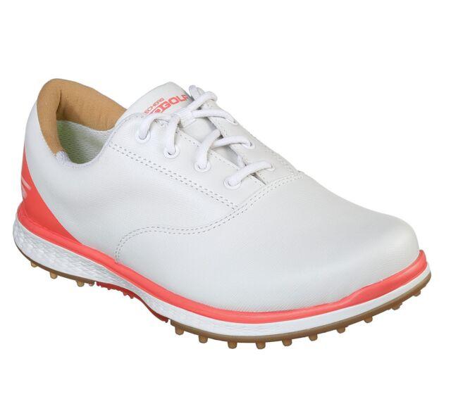 4d1489b0eb3b Skechers Women s Performance Go Golf Elite V.2 Adjust Shoes 14866  White Coral
