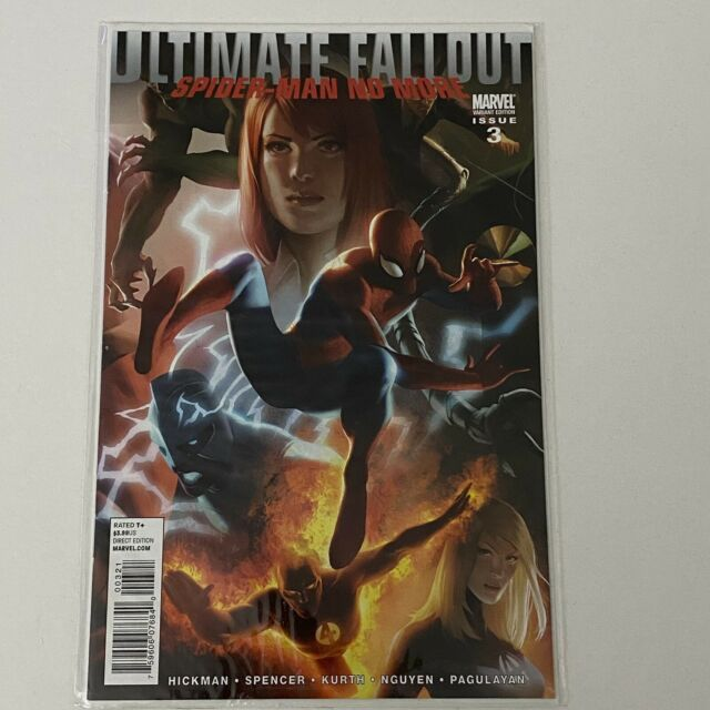 Ultimate Fallout #3 - 1:25 Variant - 1st Miles Morales Preview - NM