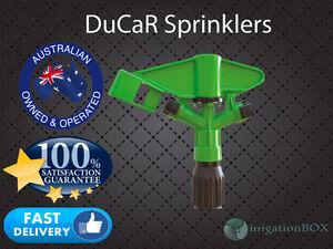 Pack of 5 x DuCaR Atom 15FC - Full Circle, Impact Plastic Sprinklers