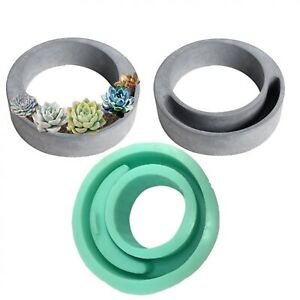 Hollow-Shape-Cement-Flowerpot-Mould-Concrete-Planter-Silicone-Mold-DIY-Plant-Pot