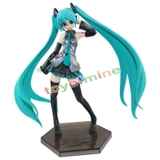 New Anime VOCALOID Hatsune Miku 1/8 Scale Painted Figure Figurine 18cm