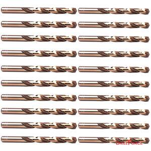 20PCS-1-4-034-Cobalt-Drill-Bit-Set-M35-HSS-Jobber-Length-Twist-Drill-Bits-Tools