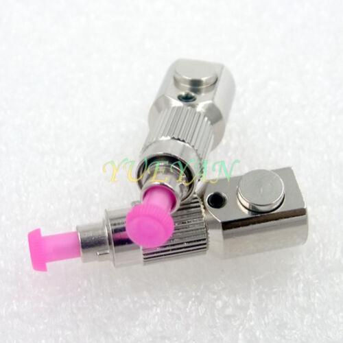 Optical Fiber Connector FC Multimode Round Bare Fiber Adapter Flange Coupler