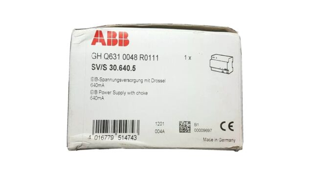 ABB KNX SV/S 30.640.5 Power Supply GH Q631 0048 R0111 NEW IN BOX