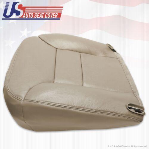 1996 1997 1998 Chevy Silverado K1500 K2500 Driver Bottom Leather Seat Cover Tan